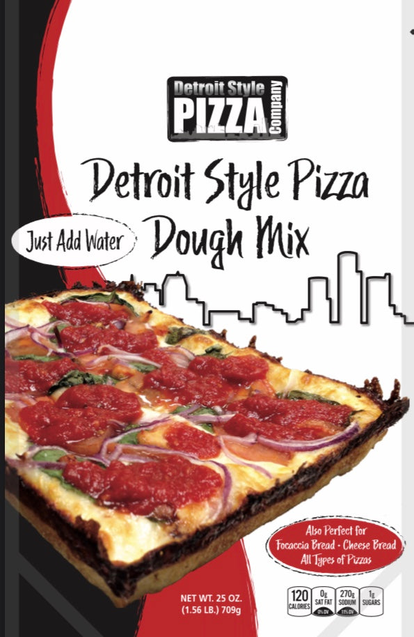 Detroit Style Pizza Dough Mix - Residential