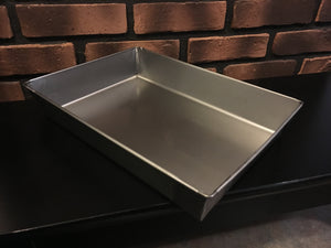 8 x 10 - Authentic STEEL Detroit Style Pizza Pan
