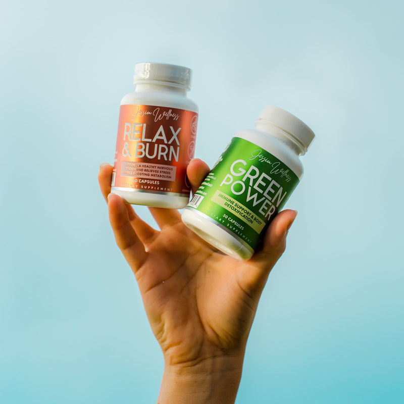 Pack Healthy (Green And Relax) - Jessica Wellness Shop