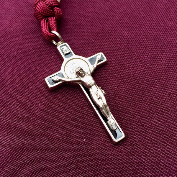 Gracious Aggie Compact Paracord Rosary