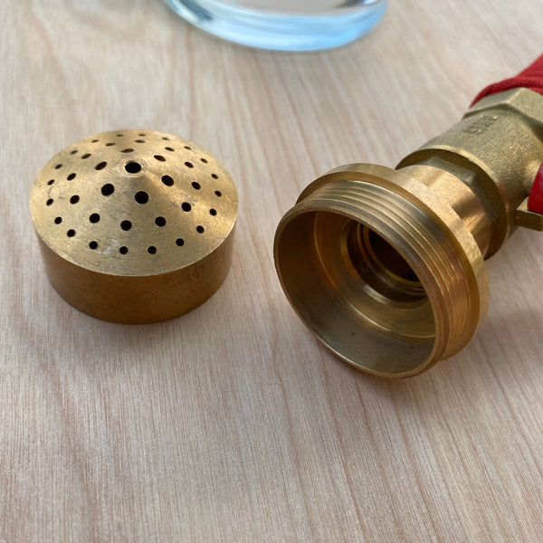 Brass Home Aspergillum (Holy Water Sprinkler)