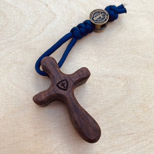 Walnut Pocket Cross