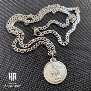 Saint Michael Pendant Chain