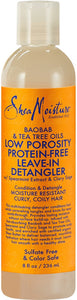 Baobab & Tea Tree Oils Low Porosity Protein-Free Leave In Detangle - Beauty by Promise