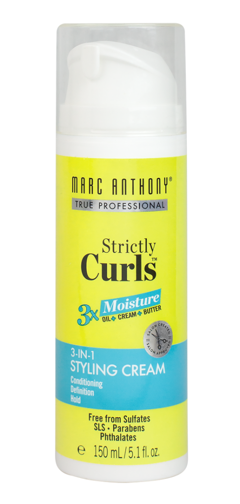 Strictly Curls 3X Moisture 3-in-1 Styling Cream