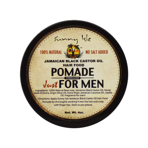 Sunny Isle Jamaican Black Castor Oil Pomade for Men - Beauty by Promise