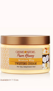 Creme of Nature Pure Honey Moisture Whip Twisting Cream - Beauty by Promise