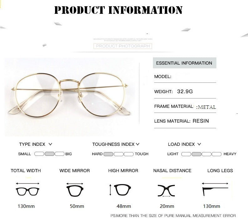 Round Glasses Frame For Women