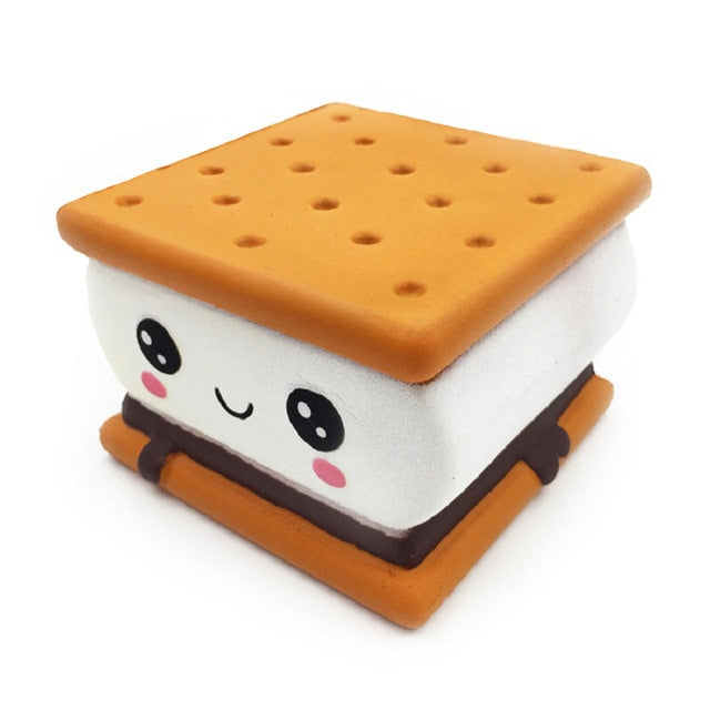 Cute Kawaii S'mores squishies 27 shapes