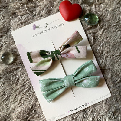 Mix & Match Pack of 2 Bow Clips