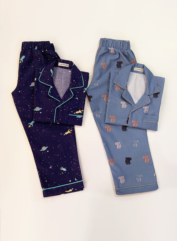Mix & Match Pack of 2 Pyjama Set