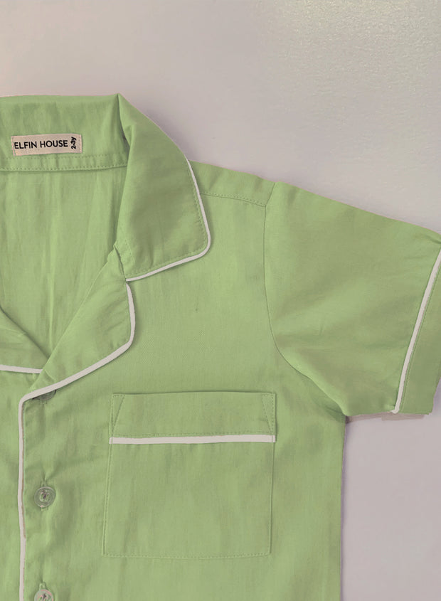 Lime Kid's Pyjama Set