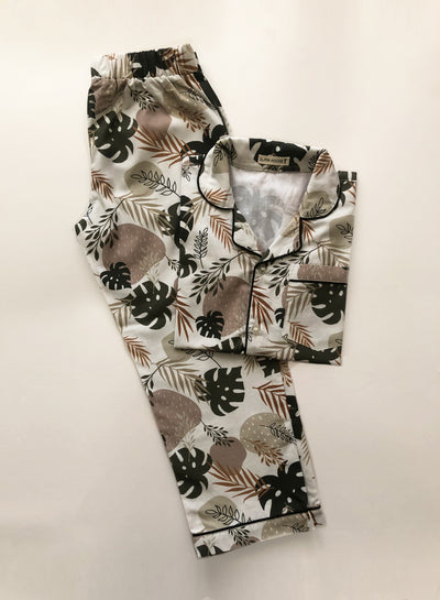 Palm Leaves Kid's Pyjama Set