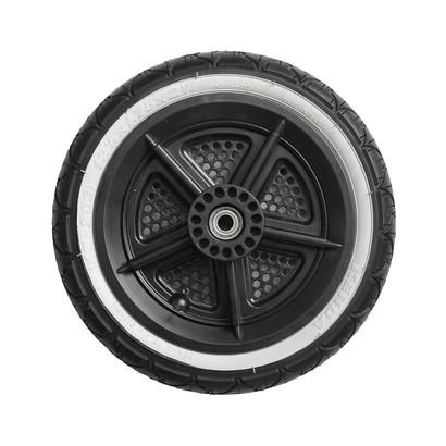 "12"" rear wheel with hub cap"