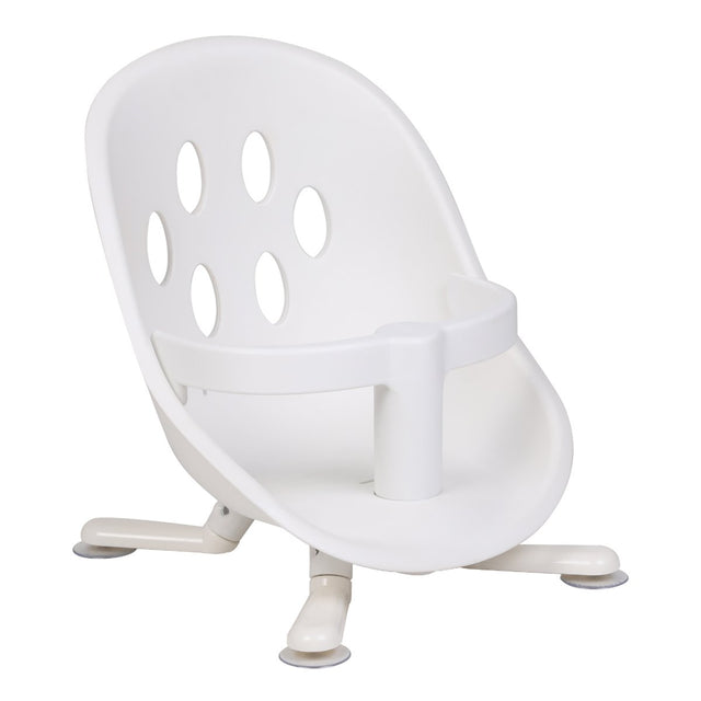 phil&teds poppy bath seat shown 3/4 front angle_white