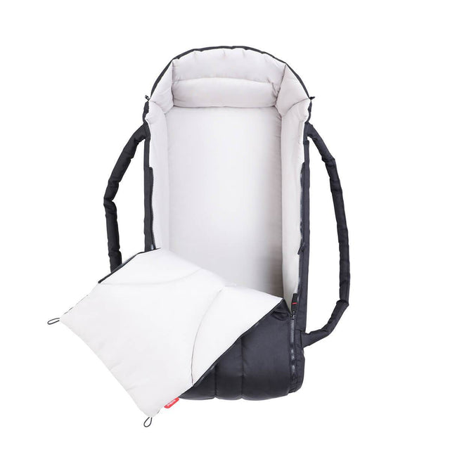 phil&teds newborn cocoon unzipped_black