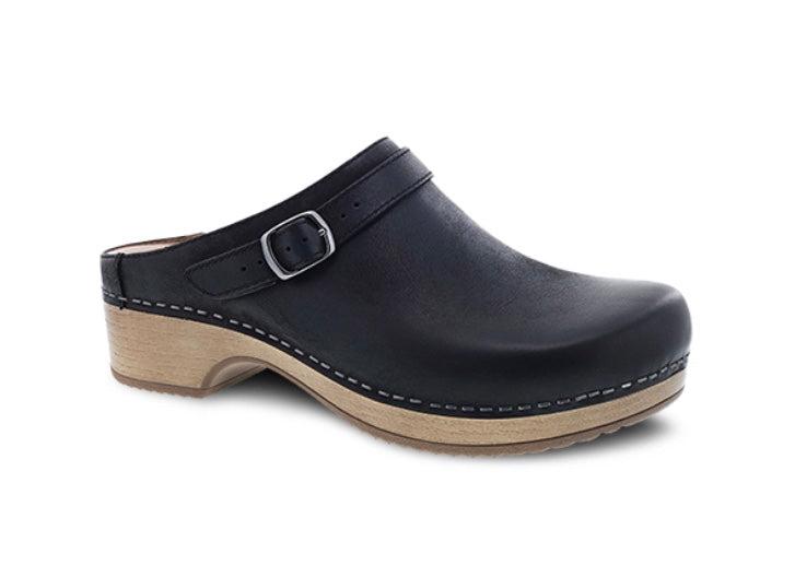Dansko - Berry Burnished Nubuck - Black