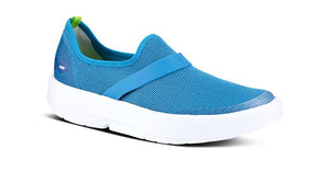OOFOS - OOmg Low Shoe - White Teal