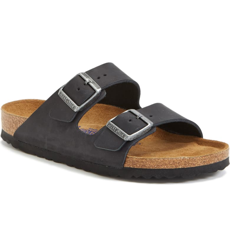 Birkenstock - Arizona Soft Footbed - Black