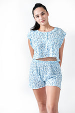 Load image into Gallery viewer, The Lillian Pajama Set | Blue