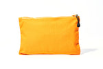 Load image into Gallery viewer, 11.5 x 7 in Yellow Zipper Pouch