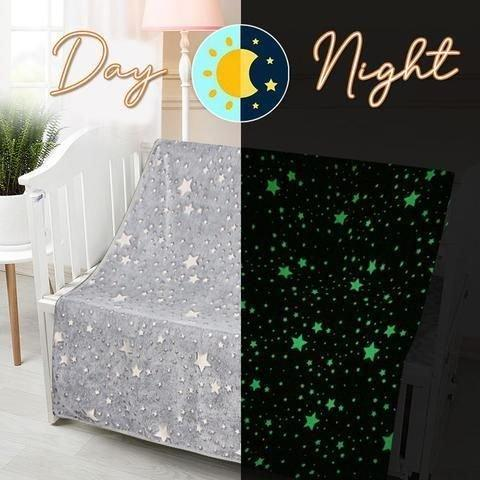 【Kaufen Sie 2 versandkostenfrei】Magic Glow-in-the-Dark-Decke