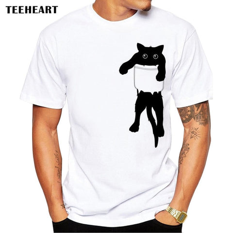 Men's Animal Printed Hipster Tees