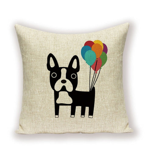 Dog Cushion Cover 45x45cm