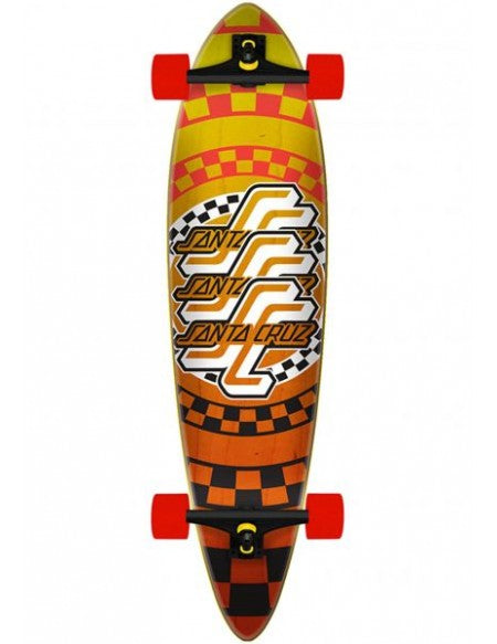 Santa Cruz Check Pintail Longboard