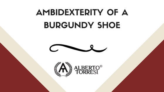 Ambidexterity of a Burgundy Shoe