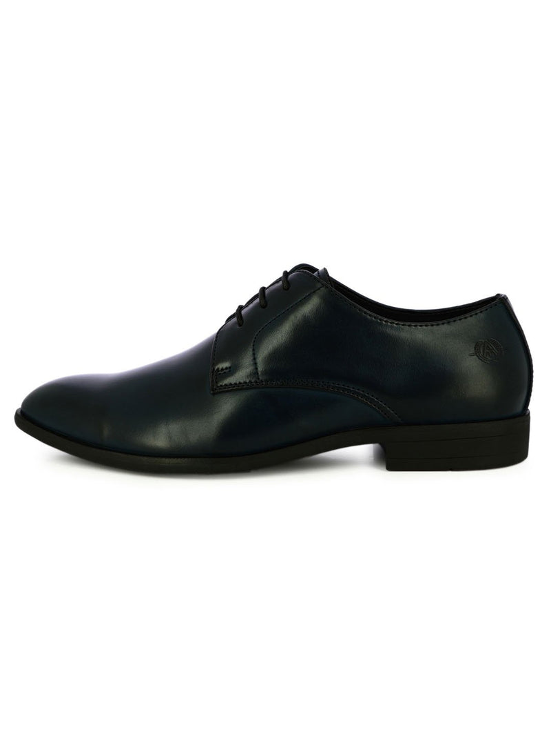 Navy Lace Up Formal Shoes