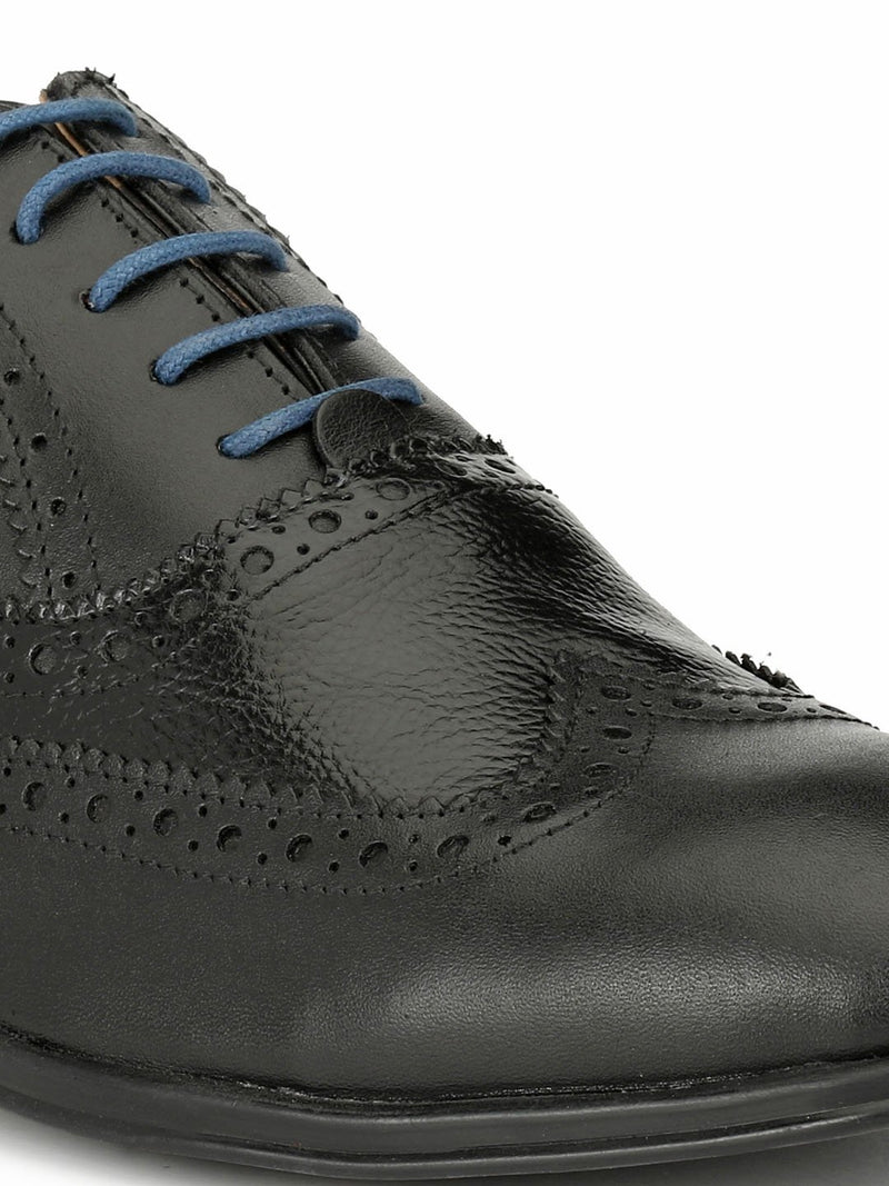 Alberto Torresi Protom Black Formal Shoe