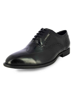 Alberto Torresi Koustom Black Formal Shoes