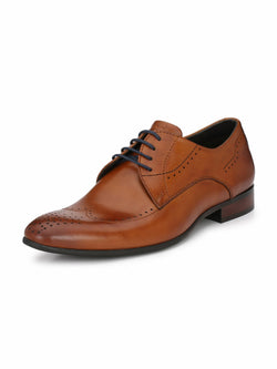 Alberto Torresi Men'S Tan Kahiau Formal Shoes