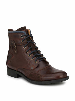 Alberto Torresi Men Brown Bridger Boots