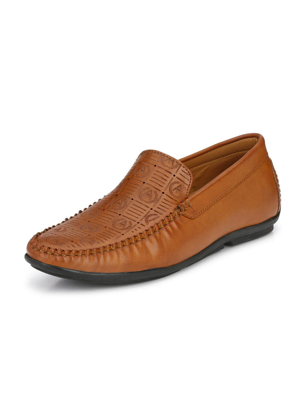 Alberto Torresi Men Taurino Tan Loafer