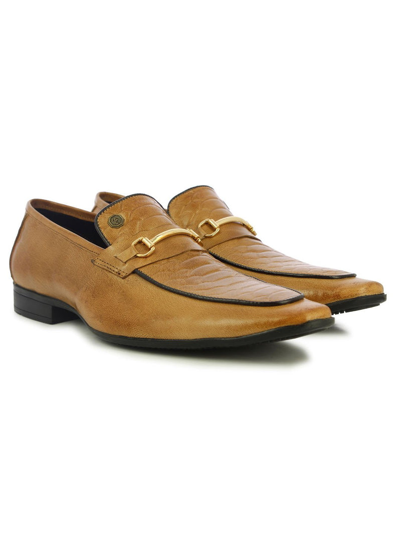 Alberto Torresi Fonteno Men's Beige Formal Shoes
