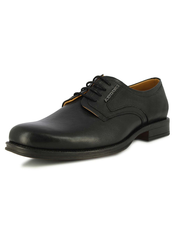 Alberto Torresi Men Graton Black Formal Shoes