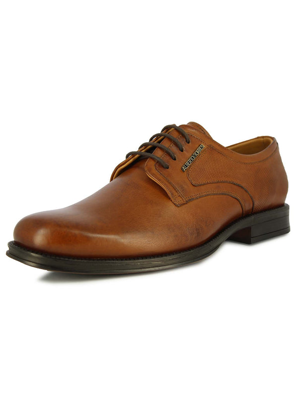 Alberto Torresi Men Graton Tan Formal Shoes