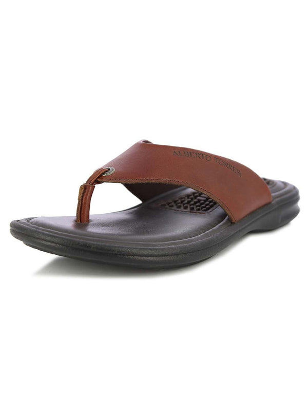 Alberto Torresi Men's Ford Cognac Slipper
