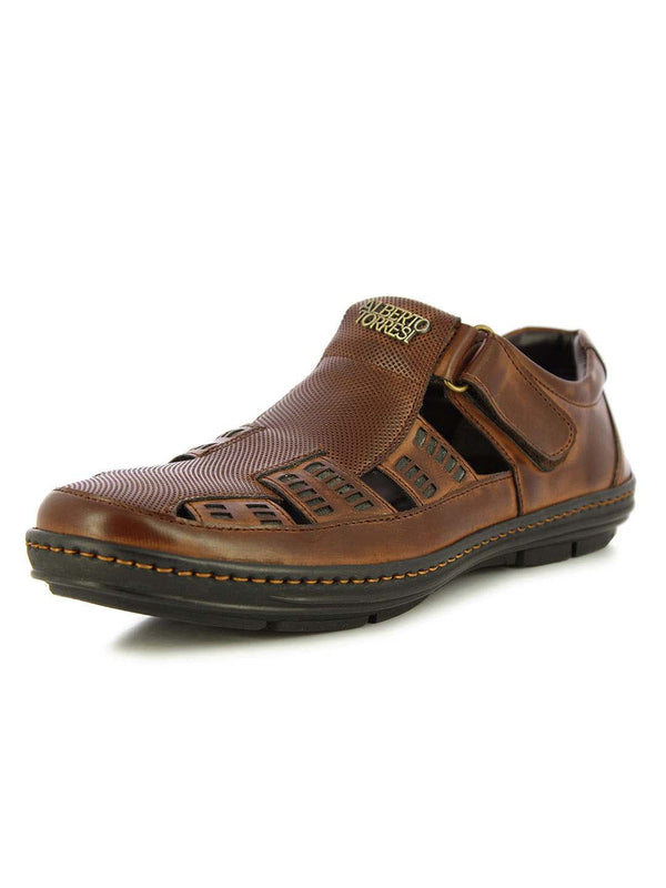 Alberto Torresi Men's Tober Brown Sandals