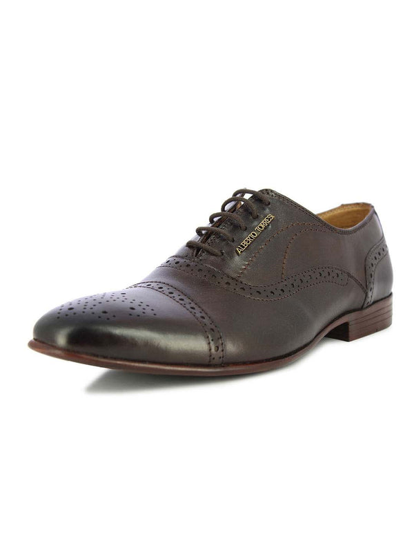 Alberto Torresi Men's Charles Brown Formal Shoes
