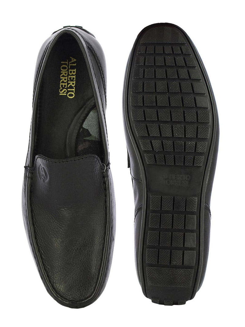 Alberto Torresi Men's Max Black Comfort Loafers
