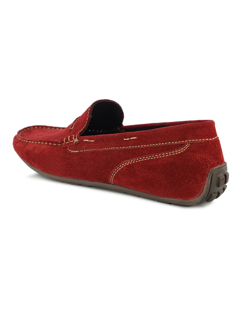 Alberto Torresi Men's Wilton Red Loafers