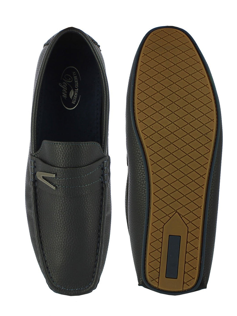 Alberto Torresi Vegan Textured Loafers