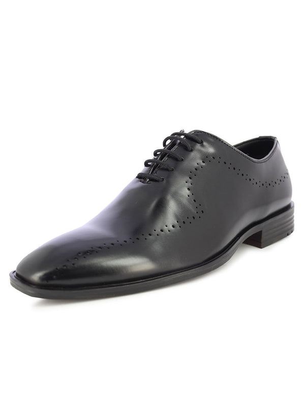 Alberto Torresi Men's Marvolo Black Formal Shoes