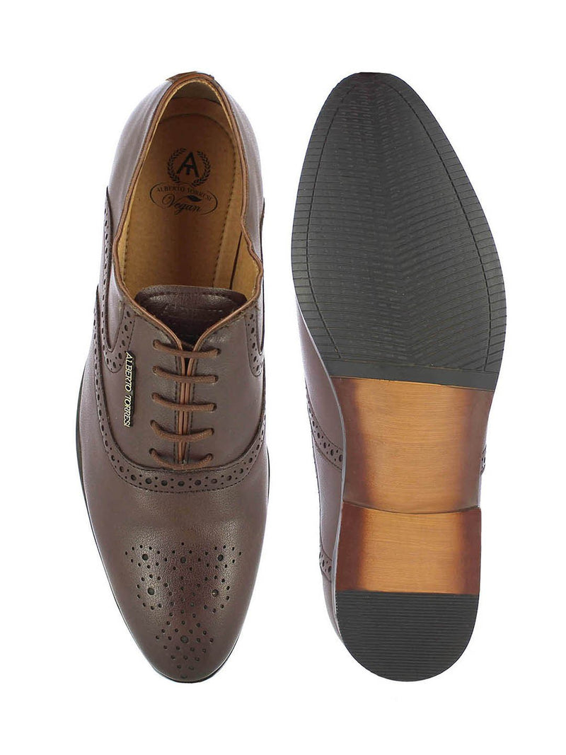 Alberto Torresi Men's Marin Brown Lace-ups