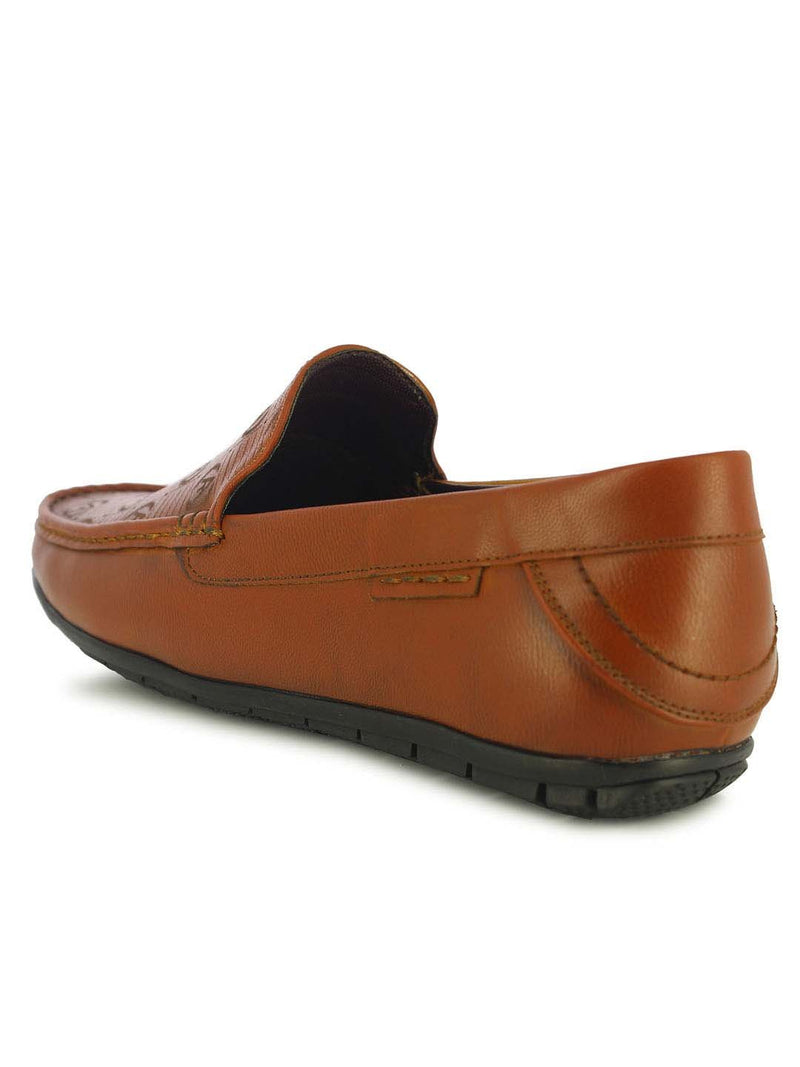 Alberto Torresi Zeus Men's Tan Loafers