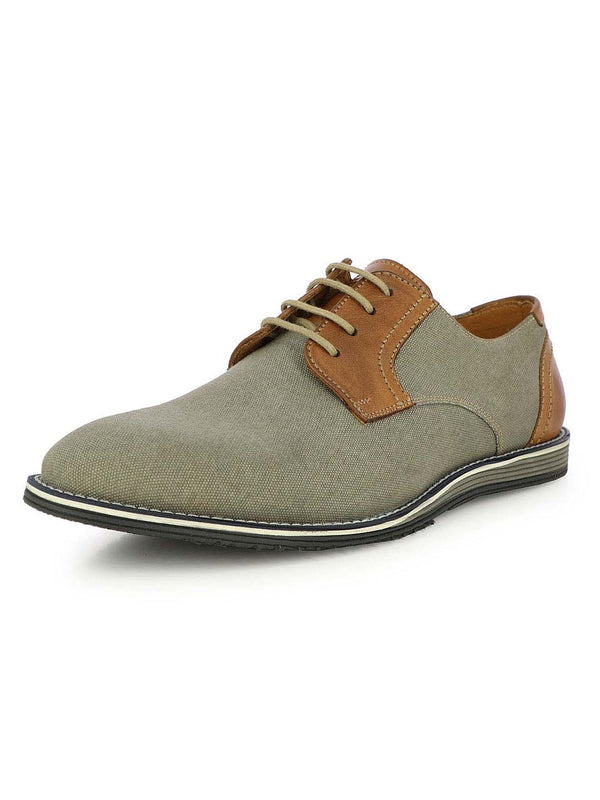 Alberto Torresi Forio Men's Whole-cut Grey Casual Shoes