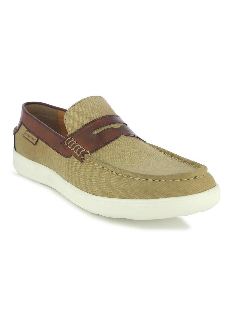Alberto Torresi Lewis men's Beige Casual loafer